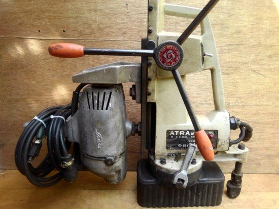 マグネットボール盤の工具買取はお任せください。古い工具の買取実績も豊富です。